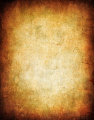 grunge background with space for text or image (lisame0511) Tags: old brown abstract wall vintage ancient paint pattern antique background grunge parchment retro stained canvas dirt blank page worn torn aged aging grungy sewed russianfederation