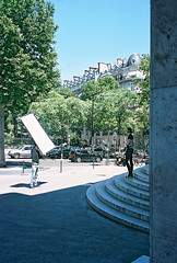 (victortsu) Tags: paris france art architecture photography kodak portra palaisdetokyo 160 portra160 kodakportra olympusmjuii kodakportra160 lacatonvassal victortsu photographersontumblr originalphotographers
