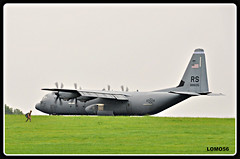 Lockheed C-130J-30 Super Hercules (LOMO56) Tags: lockheedc130e c130ehercules c130e usafe usairbaseramstein natobung luftlandeoperationen flugplatzbitburg bitburg bitburgerland