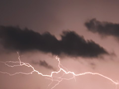 electric sky (iamlewolf) Tags: longexposure storm nature night clouds grey cool intense nikon purple bright zoom gray nighttime p900 coolpix lightning unfocused defocus 2016 nikoncoolpix nikonp900