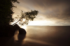 The Softness of Time: Lake Superior (Jeff Rennicke) Tags: time nature lake lakesuperior beauty peace serenity quiet