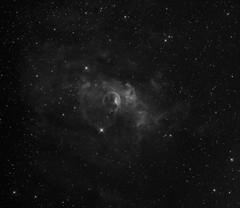 NGC7625 - The Bubble Nebula (H-Alpha) (CSky65) Tags: ngc astrophotography sbig astroimaging st8300m ngc7625