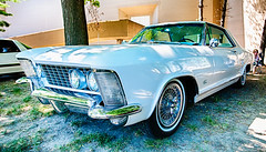 The Buick Riviera (hz536n/George Thomas) Tags: 2016 buick cs5 canon canon5d ef1740mmf4lusm flint michigan riviera sloanmuseum sloanmuseumautofair summer carshow copyright