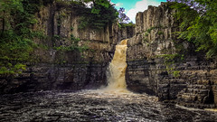 High Force (ian.emerson36) Tags: water waterfall rocks trees tree sky clouds teesdale pennines landscape samsung lightroom adobe