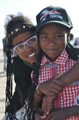 Saharawi children (mattangus) Tags: poverty travel portrait sahara closeup children algeria child desert refugee smiles happiness only camps crisis saharawi westernsahara lookingatthecamera displacedpeople