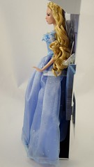 2015 Blue Gown Cinderella Limited Edition 17'' Doll - Disney Store Purchase - Deboxing - Attached to Backing - Full Right Side View (drj1828) Tags: uk blue ball doll royal cinderella gown purchase limitededition disneystore 17inch 2015 deboxing liveactionfilm le4000 disneyfilmcollection