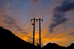 Power Surge (rasdiggity) Tags: sunset sky mountains clouds mexico power electricity huasteca lahuasteca powersurge nuevoleón russellsticklor rasdiggity
