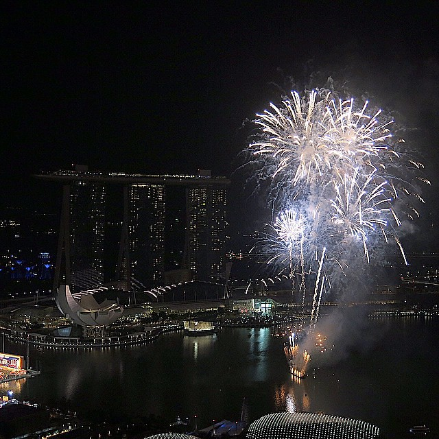 This is a photo taken during the recent Chinese New Year celebrations in Feb 2015. This is the amazing country that the late Mr Lee Kuan Yew built. A very prosperous first world country surrounded by 3rd world nations in South East Asia • Today my family