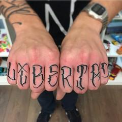 Tattoo by @anrijsstraume Anyone know the... (tats-4u) Tags: guy girl tattoo traditional tattoos font lettering tat equality inked tats employed educated traditionaltattoo inkedgirls uploaded:by=flickstagram inkedguys tats4u instagram:photo=9453899005956323011657074005 anrijsstraume