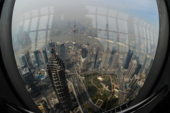 DSC_0078-13 (tamas.doczi) Tags: china skyline nikon skyscrapers shanghai fisheye    pudongskyline   theopener wordfinancialcentershanghai