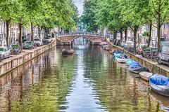 Leidsegracht canal In Amsterdam (Jeff Barbier Photography) Tags: netherlands dutch amsterdam architecture landscape canal 17thcentury canals prinsengracht waterway prinsengrachtcanal leidsegracht veniceofthenorth grachtengordel dutchgoldenage canalsofamsterdam leidsegrachtcanal