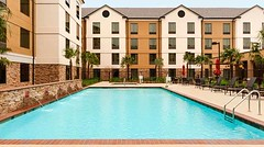 FILMMAKERS!! In need of a swimming pool for one of your scenes!? Check out the pool area at the Hilton Garden Inn/Homewood Suites in Bossier City! VIVA!
