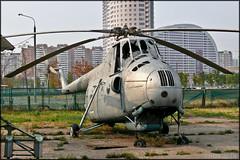 Mil Mi-4 (Pavel Vanka) Tags: museum plane russia moscow aircraft mil khodynka mi4 russianairforce