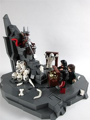A Tale Of Rats I (Jacob Nion) Tags: castle dark skull rat mine king lego dwarf fantasy custom goh throne dwarves minifigure skaven osric nocturnus eurobricks hitorica isentooth