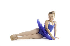 Nia (carolinematt2) Tags: blue portrait ballet college dance course niece highkey nia tutu photographycourse2014
