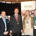 Showtel James Fothergill, Herdis Reynisdottir &  Kevin Moroney, Aclass Media with Stephen McNally, IHF President