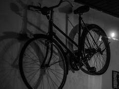 AGN_3537 (lvaro gonzlez novoa) Tags: music bike vintage uruguay dance bicicleta musica hanging montevideo tap vinilo percusion