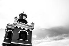 Pier (Han S. Kim) Tags: blackandwhite bw usa white black building history beach architecture puerto san juan rico springbreak nikond5000