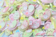Chaveiro :Passarinhos (Fofurebas - By Jackie) Tags: chaveiro bebês passarinhos lembrancinhas recémnascido lembrancinhasdenascimento