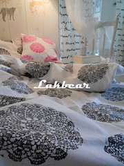 Handmade lace stamped bedclothes (LAKBEAR(D)) Tags: bear wood pink blue white black green art home vintage beard diy artwork stencil colorful paint acrylic symbol recycled handmade lace painted style stamp used canvas fabric attic antiques tradition squish footprint stamped carbootsale bedclothes patterned reused madebyhand giftideas upcycled handmadestamp restyled myowndesign pentart stepbystepphotos easyideas lakbear lacestamp beautifulcrafts