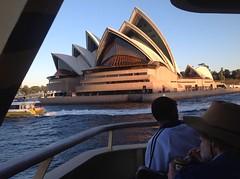 Sunset Sydney Opera house (ikor1) Tags: light night sydney australia operahouse ipad