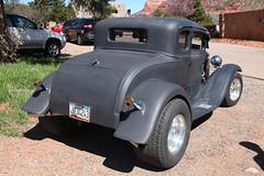 Fine Ford (twm1340) Tags: street arizona ford modela march sedona az rod coupe 1930 2015