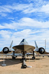 SR-71 Blackbird (MassieMeyer) Tags: airplane airport force aviation air super sonic edwards base blackbird sr71 afb