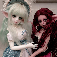 Atelier Cynamon (Sakura-Streifchen) Tags: slim bjd msd balljointed balljointeddoll artistdoll ebjd slimmsd anthrobjd artistbjd ateliercynamon anthrofeline europeanballjointed cynamonmilk cynamonstrawberry