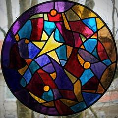 star (overthemoon) Tags: windows schweiz switzerland suisse stainedglass vitrail fribourg svizzera vitraux romont romandie vitromuseromont museduvitrail
