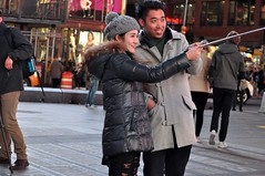 Times Square people (zaxouzo) Tags: nyc people public night candid timessquare stpatricksday 2015 nikond90