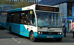 The long way round (J.J.Pay 8581) Tags: 6 bus leicester solo midlands arriva optare syston yj09mjk