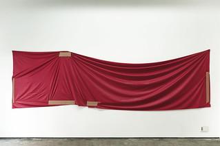 Stéphanie Saadé re-enactment-CN--red-cloth-2013