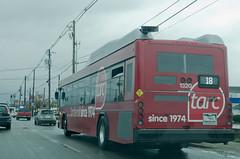 tarc…since 1974 (Joe Schneid) Tags: bus publictransit kentucky louisville tarc transitauthorityofrivercity 40thanniversarybus