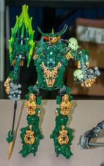 Plant Demon (SEdmison) Tags: oregon portland lego convention bionicle brickscascade brickscascade2015