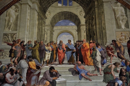 The School of Athens, Vatican Museums, From FlickrPhotos