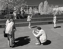 'click' (Robert Couse-Baker) Tags: seattle tourism candid snapshot memories streetphotography click peopletakingpictures share phones seattlecenter