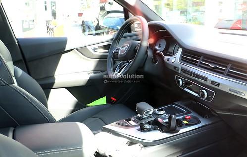 Audi SQ7 от фотошпионов