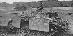 German commander's tank Pz Kpfw.III Ausf.M (Panzerbefehlswagen III Ausf.K).
