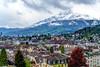 DSC00806_7_8_fused (photobillyli) Tags: luzern switzerland 瑞士 europe 歐洲 琉森 lucerne chapelbridge kapellbrucke 卡佩爾教堂橋 羅伊斯河 riverreuss 水塔 watertower
