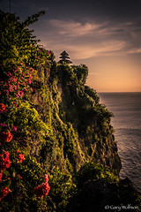 Uluwatu Cliffs (Gary Wolfson) Tags: travel bali indonesia landscape temple asia uluwatu leicam