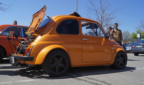 Fiat 500 F 1970 Tuning 85 Ps In Electric Orange Pearl 2