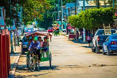 Bici-taxis in Tuxtla Gutierrez!