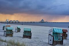 Heringsdorf_Seebrcke (Sascha Selli) Tags: sunset beach strand germany deutschland ostsee usedom vorpommern mecklenburg strandkrbe heringsdorf strandkorm