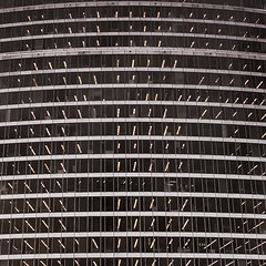 Sparky (ep_jhu) Tags: windows bw building apple lines arlington lights virginia us unitedstates perspective repetition rosslyn curved offices iphone gursky 6s