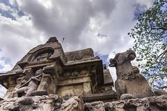 architech wonder-Pazhuvr temple (Ramesh M Photography) Tags: blackandwhite sculpture clouds temple ngc tamilnadu ngo indianphotography nationalgeographicgroup digitalslrphotographymagazine tamilnadutourism rameshmuthaiyan rameshmphotography rameshmclick pazhuvur templearchtect