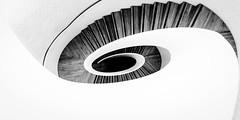 Vortex (Sean Batten) Tags: england blackandwhite bw london stairs spiral nikon unitedkingdom staircase gb vauxhall d800 damienhirst 1424 newportstreetgallery