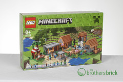 Minecraft 21128 The Village (The Brothers Brick) Tags: village lego review the 21128 minecraft