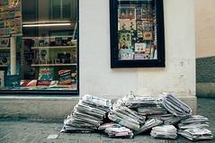 DSC_0073-2 (theyansin) Tags: street urban stilllife penguin switzerland europe zurich newspapers