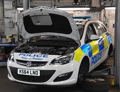 KS64LNO (Cobalt271) Tags: sports proud police northumbria vehicle to 16 astra protect vauxhall response tourer livery cdti ks64lno