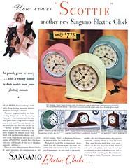 Sangamo Electric Clocks - 19311121 Post (Jon Williamson) Tags: history vintage advertising ad vintageadvertising vintagead vintascope